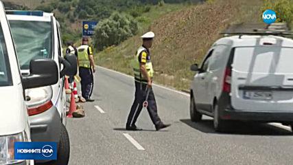 Откриха тялото на прегазен велосипедист в канавка на международен път