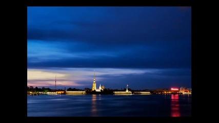 Русия красотата на Санkт Петербург
