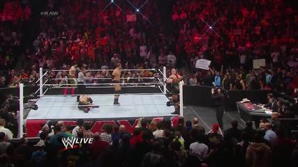 Los Matadores vs. Ryback & Curtis Axel: Raw, March 24, 2014