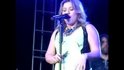 Kelly Clarkson How I Feel Live Brent Brown Ballpark, Orem Summerfest, Utah June 2009