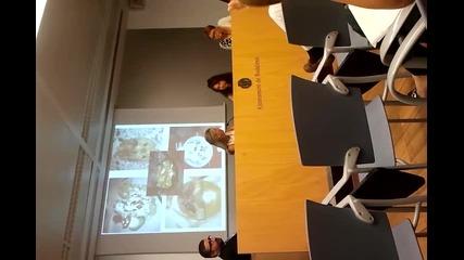 Презентация пред кметството и медиите в Бадалона, Испания, част 2