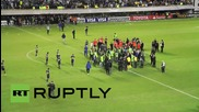 Argentina: Pepper sprayed River Plate players evacuated from Boca's stadium