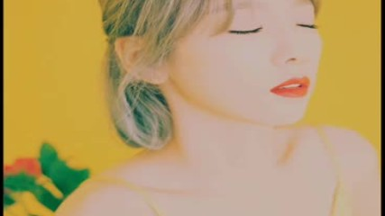 Бг превод! Taeyeon - Love in Color