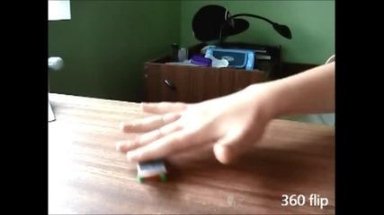 fingerboard trick tips demo.
