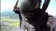 Hq Невероятно преживяване Sky Diving Jeb Corliss Grinding The Crack