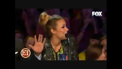 """Demi Lovato е """"затапена"""" от участник в X-factor"""