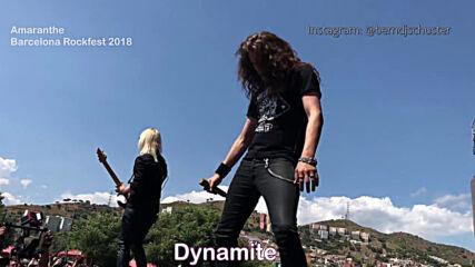 Amaranthe - Dynamite [ Barcelona 2018 ]