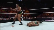 Big E vs. Titus O'neil Wwe Superstars, May 29, 2014