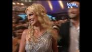 Britney Spears с трите награди от VMA 2008 (ВИСОКО КАЧЕСТВО)