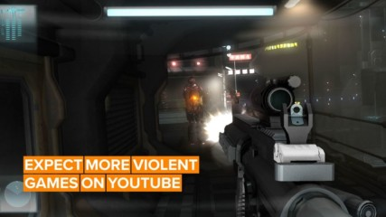 What does Youtube's new gaming rules mean for violent imagery?