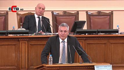 Изказване в Нс на Валери Жаблянов - народен представител от Пг - Бсп за България- 14.04.2020