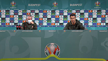 Hungary: 'Drink water' - Ronaldo removes Euro 2020 sponsor Coca-Cola bottles during press conference
