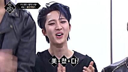 Road to Kingdom s01e02- Golden Child - T.o.p.(original song: Shinhwa)1-во състезание 070520-4
