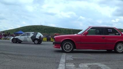 Митко Димитров BMW E30 VS Живко Живков Honda Civic
