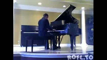 Изкуството да свириш на пиано.