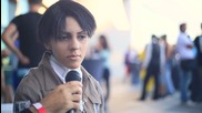 (aniventure 2013) Cosplay Interview - Levi from Shingeki no Kyojin