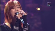 Hyorin - I Will Always Love You [ Open Concert 12.01.2014 ]