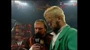 Triple H Унижава Vince Mcmahon Супер Гадно