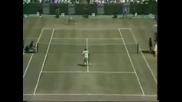 Stefan Edberg vs Mats Wilander. Australian Open 1985 Final