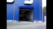 Бърза нагъваща се врата произведена от Хидротек