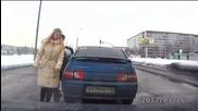Един ден по пътищата на Русия с кола