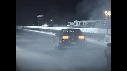 Форд Мустанг - Вдига пpедни гуми