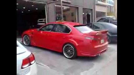 Bmw M5 E60 Hamann Red Devil
