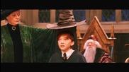 Хари Потър и Философският Камък - Разпределителната шапка