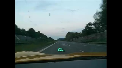 2008 Corvette Z06 - Top Speed 333 km-h on german Autobahn