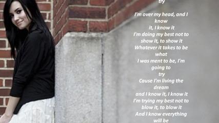 Me myself and time-demi Lovato karaoke