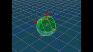 "Пример за стереографска проекция - ""геодезичен куб"""