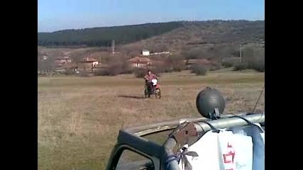 qko padane s Honda Crf