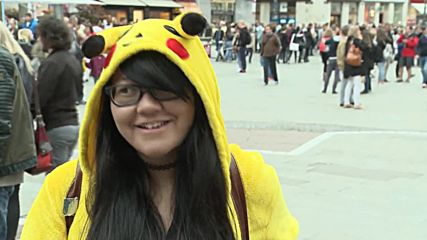 Austria: Pokemon Go fans gather for Vienna launch celebration