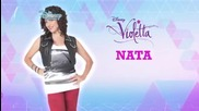 Виолета: Нати - моят характер с Бг Аудио