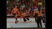 Wwf Hhh & Stone Cold & Stephanie Vs Hardyz