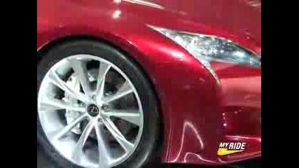Detroit Lexus Lf - A Roadster Concept