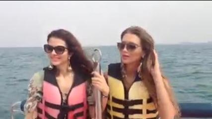 Райна и Велина в Дубай