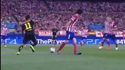 Неймар показа невероятнатa си техника срещу Атлетико М
