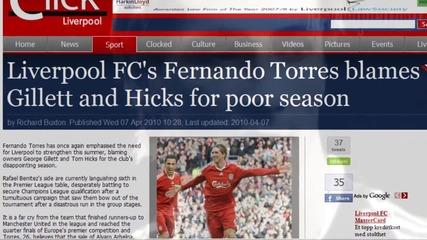 Fernando Torres 2009_10 'love the way you lie'[hd]