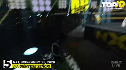 Top 10 Mejores Momentos de NXT En Español: WWE Top 10, Nov 25, 2020