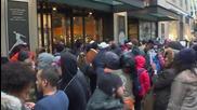 USA: Protesters disrupt 'Black Friday' shopping demanding justice for Laquan McDonald