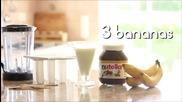 Как да си направите бързо и лесно сладолед от шоколад Nutella