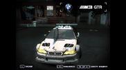 Ето как Тунинговам Bmw M3 Gtr в Need For Speed Most Wanted