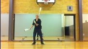 Страхотен дъбстеп жонгльор