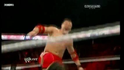 Wwe Raw - Jimmy & Jey Uso vs. Santino Marella & Vladimir Kozlov 03.01.2011