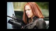 Марвел героинята Наташа Романоф / Черната Вдовица от филмите, анимациите и комиксите ...