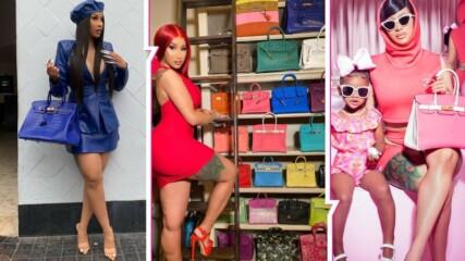Расизъм, скъпи чанти и нецензурни думи: Нападнаха Cardi B заради луксозна колекция, тя изригна!