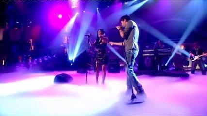 Enrique Iglesias ft. Nicole Scherzinger - Heartbeat [paul Ogrady Show 17.09.2010] + Превод + Subs