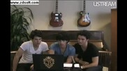 Jonas Brothers Live Facebook Webcast Part 2