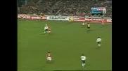 победният гол в мача Дания - България